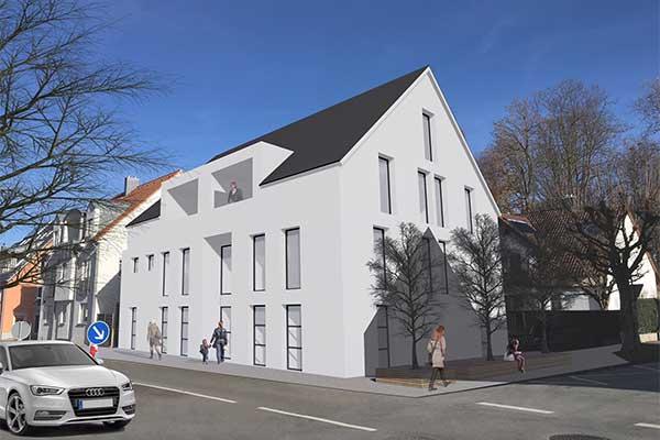 K 72 - Neubau  Wohn- und Bürogebäude in Laupheim